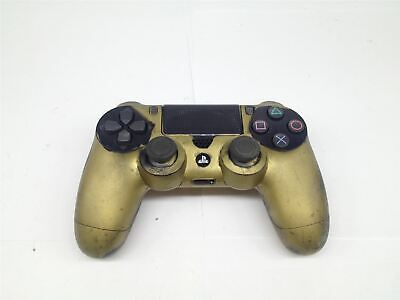 Sony PLAYSTATION 4 Dualshock 4 Wireless Controller Gold/Nero CUH-ZCT2E Testato