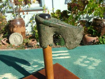 500 B.C. Luristan Bronze Axe Head