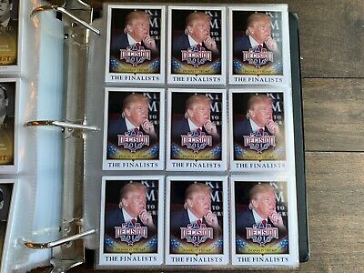 (9) 2016 Decision Series 1 Complete Sets 1-110 All Inserts Trump Biden Bush