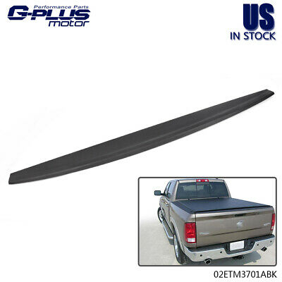 Tailgate Cover Mold Top Cap Protector Spoiler For 09-18 Dodge Ram 1500 2500 3500