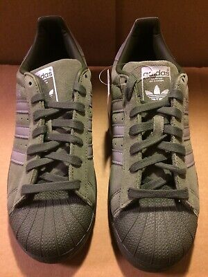 Details about adidas Originals B41988 Mens Superstar, Green Cargo, 9.5 M US