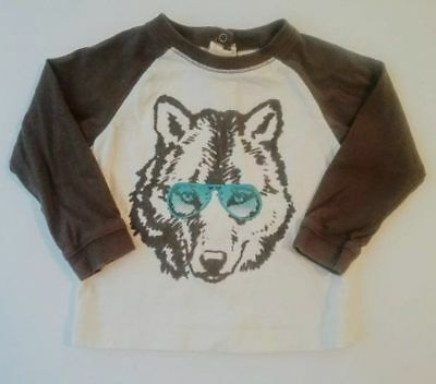 """Old Navy Baby Boys Size 12-18 Months T-Shirt """"Ladies Man"""" Long Sleeve"""
