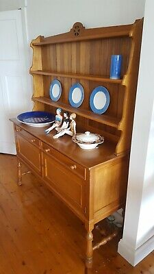 Country house vintage sideboard, dresser, hardwood in beautiful condition