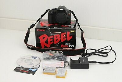 Canon EOS Rebel T2i / EOS 550D 18.0MP Digital SLR Camera - Black