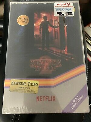 Netflix Stranger Things Season 2 Collectors Edition 4K Ultra Hd Blu-ray New Rare