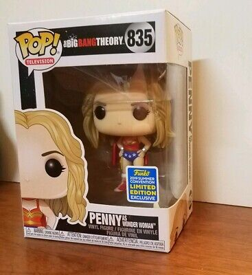 SDCC 2019 Funko POP! Big Bang Theory - Penny as Wonderwoman - Shared Exclusive
