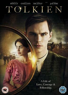 Tolkien (DVD) Nicholas Hoult,Lily Collins,Colm Meaney
