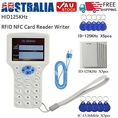 RFID NFC ID/IC Card Copier Reader Writer Duplicator for IC Cards & 125KHz Cards