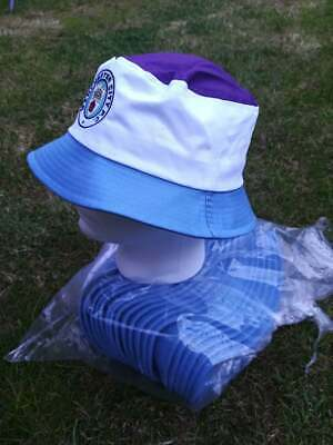 Man City retro bucket hat Manchester football soccer