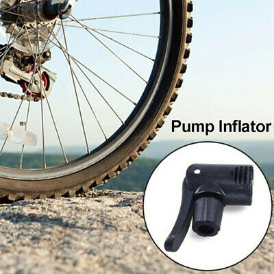 Bicycle bike cycle tyre tube replacement dual head air pump adapter valve Pip CA