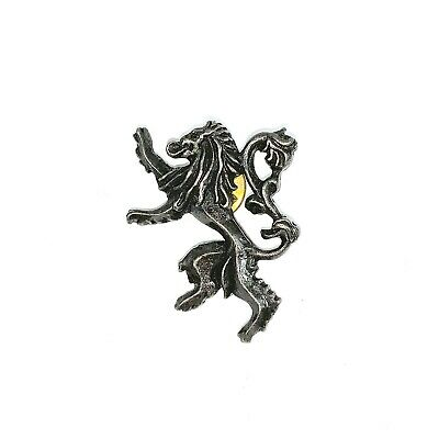 Official Game Of Thrones Lannister Lion Hat Pin Badge The Touring Exhibition Eu