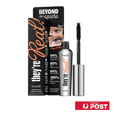 Benefit Theyre Real Mascara Jet Black 8.5g New In The Box