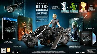FINAL FANTASY 7 VII REMAKE - 1ST CLASS EDITION [PS4] - Collectors Edition