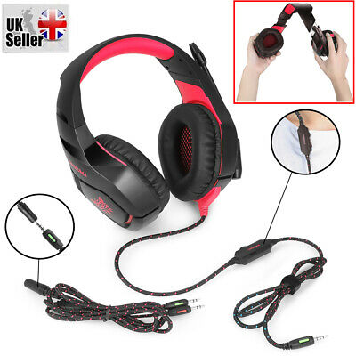 ONIKUMA K1-B Gaming Headset Headphones for Computer Laptop PS4 XBOX One with Mic
