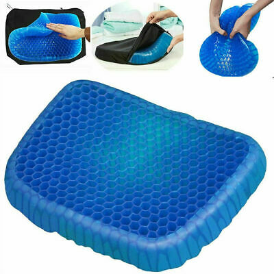 Gel Seat Cushion Breathable Design for Car, Office, Wheelchair, Truck
