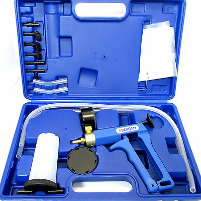 US PRO Hand held Vacuum Brake Line Pipe Bleeder Bleed Kit Set Cars / Bikes 5322