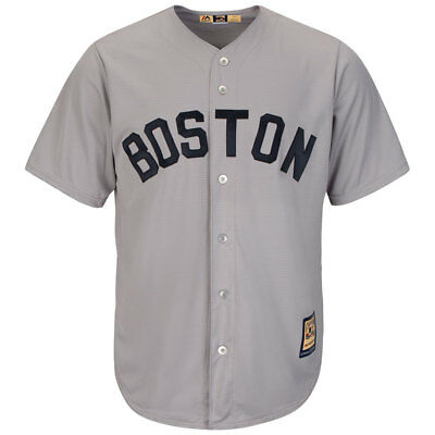 Boston Red Sox Cooperstown Cool Base MLB Road Jersey
