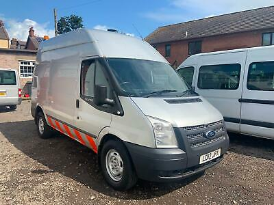 2012 (12) Ford Transit 155 T350 2.2 Tdci Rwd Cube Mwb Van Mobile Workshop