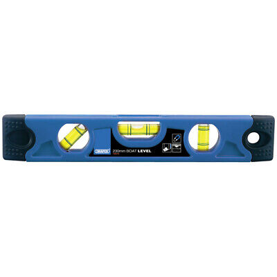 Draper 230mm Torpedo Level With Magnetic Base Handy Sized Spirit Level DIY Work