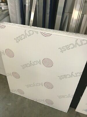 10mm and 2mm Clear Acrylic Perspex Sheet 720 x 850 mm
