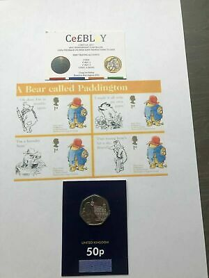 PADDINGTON AT THE TOWER OF LONDON 50p COIN CERTIFIED BU BUNC MINT *NEW RELEASE*