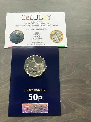 PADDINGTON AT THE TOWER OF LONDON 50p COIN CERTIFIED BU BUNC MINT -*NEW RELEASE*