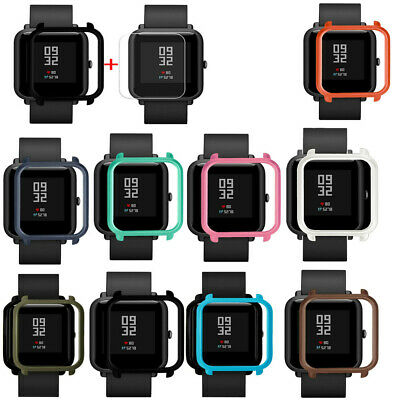 Case Cover Shell For Xiaomi Huami Amazfit Bip Youth Watch with Screen Protector