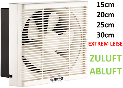 Ventilator Fan Be-Abluft Flap Wall Window Extraction Axial Air Supply Axial Pyc