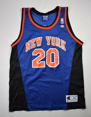 Allan Houston Champion New York Knicks Jersey Trikot james jordan 20 r j barrett