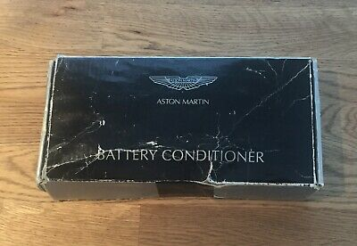 Aston Martin Battery Conditioner box a little worn