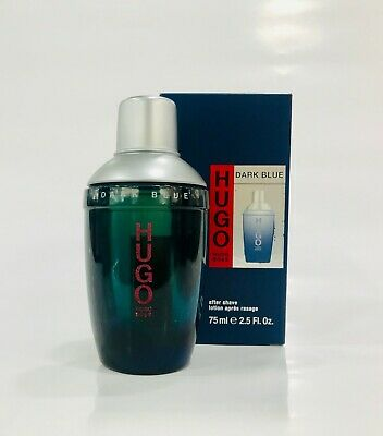 Hugo Boss - Dark Blue After Shave Lotion 75ml - New & Rare
