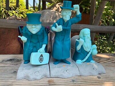 Disney Haunted Mansion 50th Hitchhiking Ghosts Popcorn Bucket Sipper COMPLETE 💥