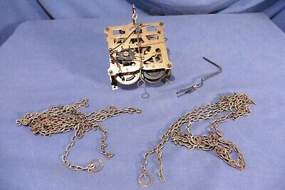 Vintage Regula Cuckoo Clock Movement with Chains 34/1