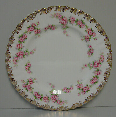 Royal Albert DIMITY ROSE Salad Plate ROSE EDGE     BEST     More Items Available