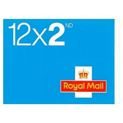 10xBook of 12 ROYAL MAIL  2nd CLASS Stamps -  SELF ADHESIVE POSTAGE STAMPS