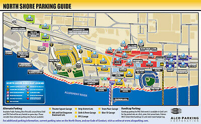 Pittsburgh Steelers vs. Baltimore Ravens - Gold Lot 4 Parking Pass (10/6/19)