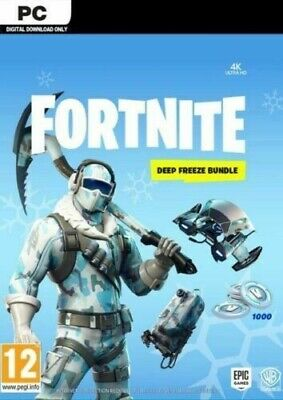 Fortnite Deep Freeze Bundle PC - BRAND NEW - BATTLE ROYALE - GAME