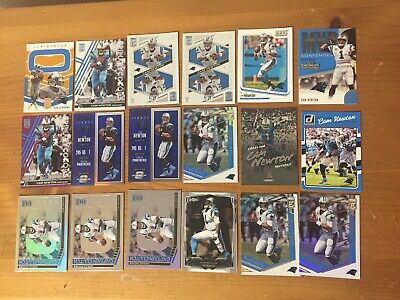 CAM NEWTON 18 card lot CAROLINA PANTHERS variation #'d /25 /75 /99 /299 auburn