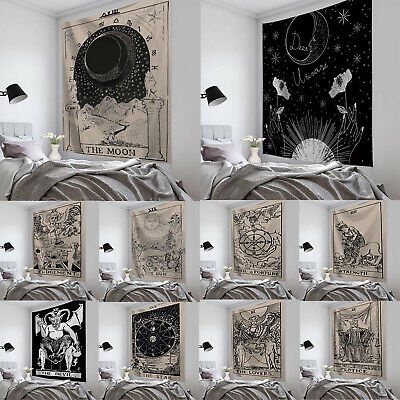 Tapestry Wall Hanging Tarot Card Pattern Blanket Tapestry Bedspread Home Decor