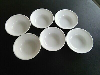 6 Corelle Winter Frost White Cereal Bowl
