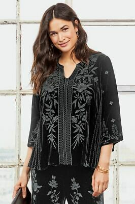 Johnny Was Adele Flutter Sleeve Blouse!!! NWT!!!! TWO COLORS!!!