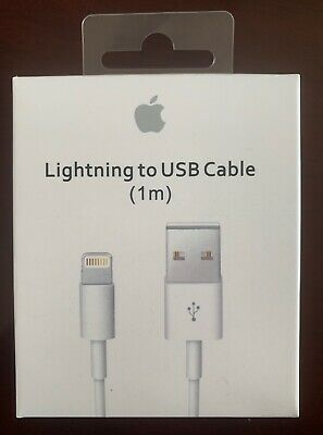Genuine OEM Apple iPhone X 8 7 6 5 Plus Lightning USB Charger Cable 1M/3F