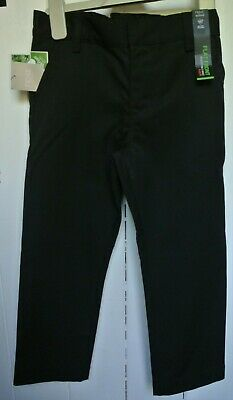 New Boys Next Flat front School Trousers Black  size 6 years plus