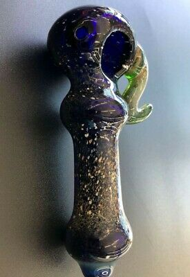 """4.5"""" Collectible hookah TOBACCO Smoking pipe herb bowl Glass Hand Pipes"""