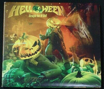 Helloween-Straight Out Of Hell CD + 2 BT (2013 The End) 15 Track Limited Edition