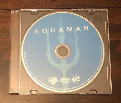Aquaman (2018, DVD ONLY in Jewel Case)