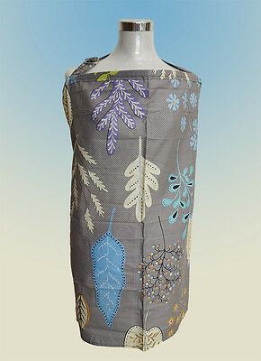 Brand New Breastfeeding Nursing Cover with Matching Bag. (Nature Grey)