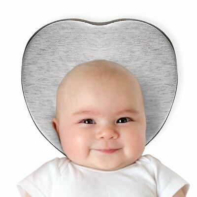 Baby Head Shaping Pillow for Flat Head Prevention, Head Support, Heart Shaped