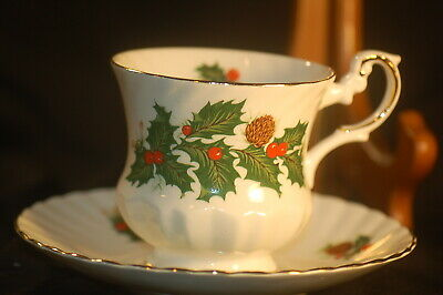 Rosina Yuletide  Cup and Saucer
