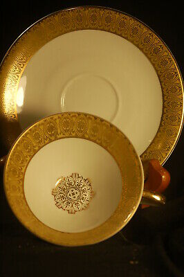 Bavaria Gold Banded  Cup and Saucer